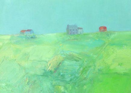 Hopefulness 16 x 19 ins oil on canvas